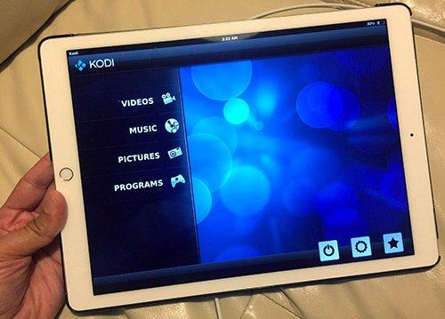 Kodi su iPad