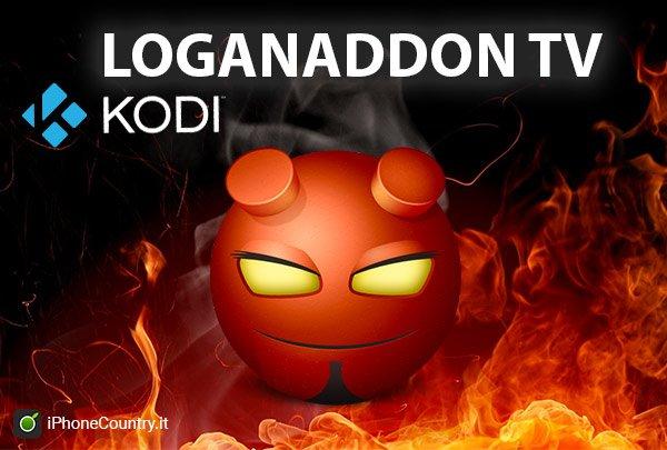 Loganaddon TV su Kodi