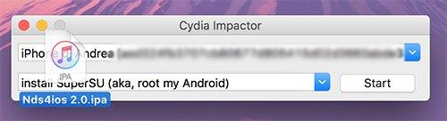 Nds4ios su Cydia Impactor