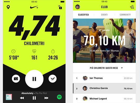 Nike Run iPhone