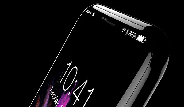 Nuovo touch screen di iPhone 8