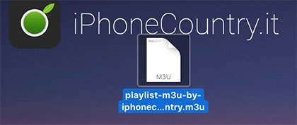 Playlist M3U file