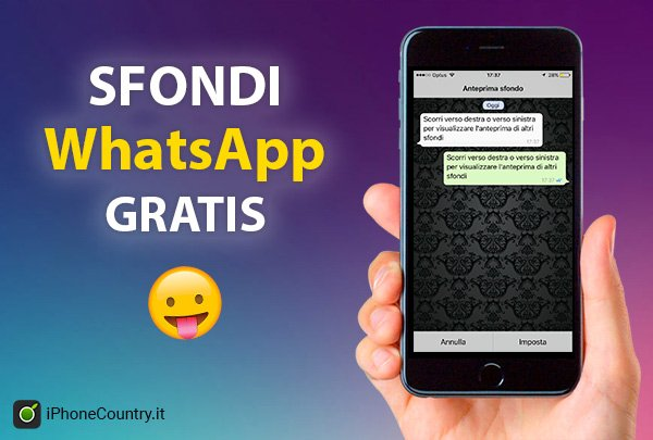 Sfondi WhatsApp iPhone