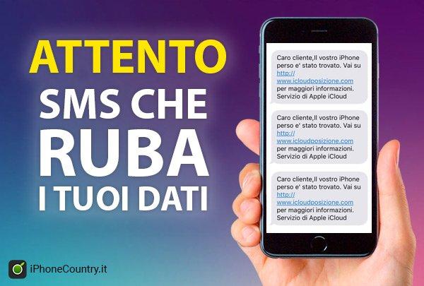 SMS pericolosi da evitare su iPhone