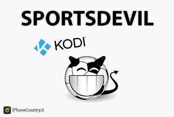 Sportsdevil su Kodi