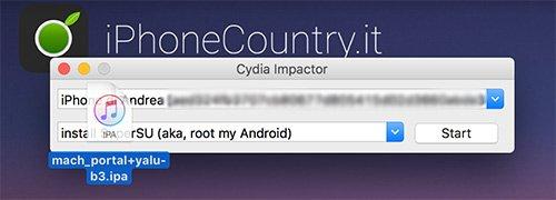 Yalu Jailbreak con Cydia Impactor