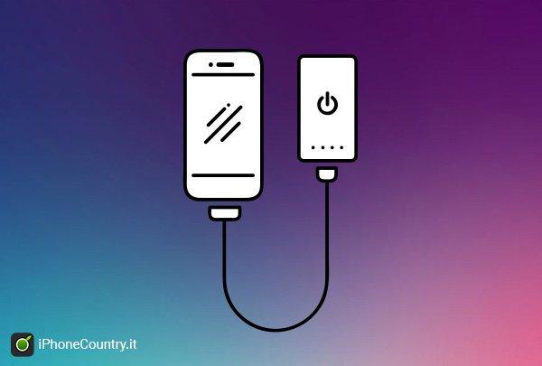 Batteria esterna iPhone 7