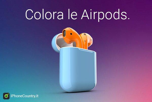 Colorare AirPods