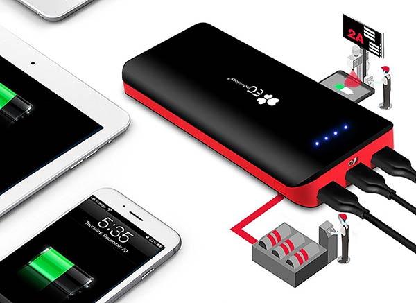 EC tecnology batteria esterna