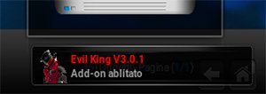 Notifica di Evil King