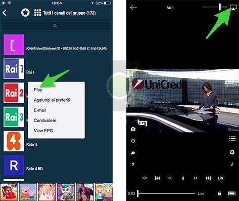 GSE IPTV su Chromecast