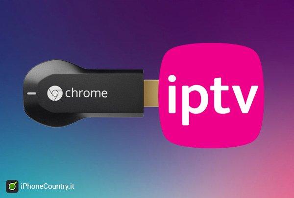 IPTV Chromecast