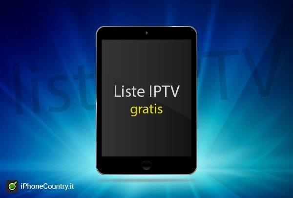Liste IPTV gratis per iPad