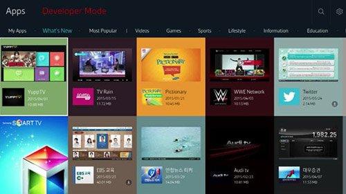 Modalita Sviluppatore Smart TV Samsung