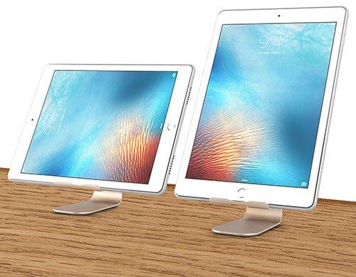 Supporto iPad in alluminio