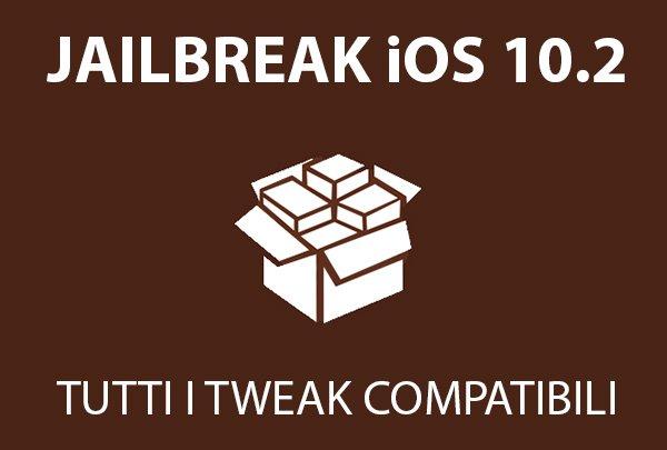 Tweak compatibili con iOS 10.2