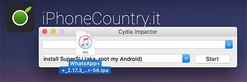 WhatsApp Plus Plus su Cydia Impactor