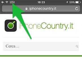 Icona VPN iOS