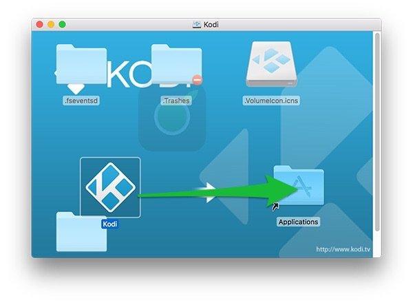Installazione Kodi su Mac