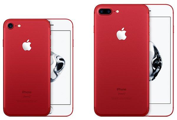 iPhone 7 Plus colore Rosso
