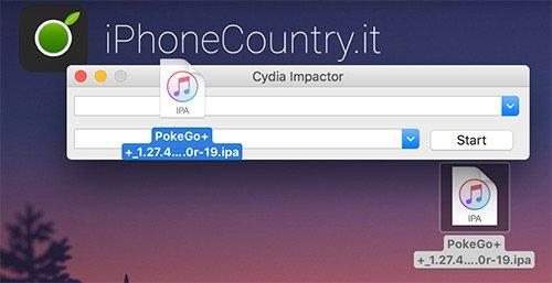 PokeGo su Cydia Impactor