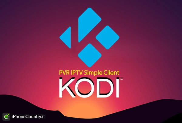 PVR IPTV Simple Client su Kodi