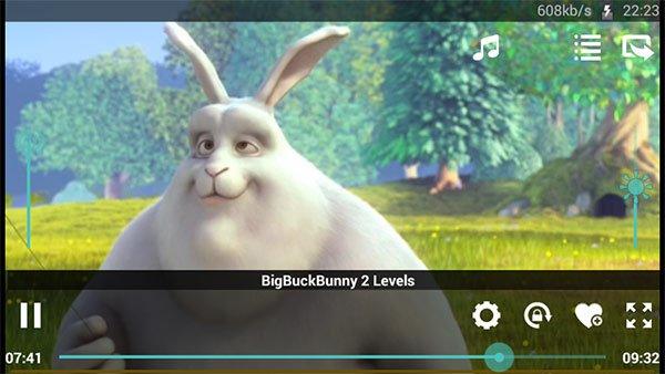 Schermata di XMTV Player