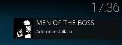 Notifica di Men of the Boss