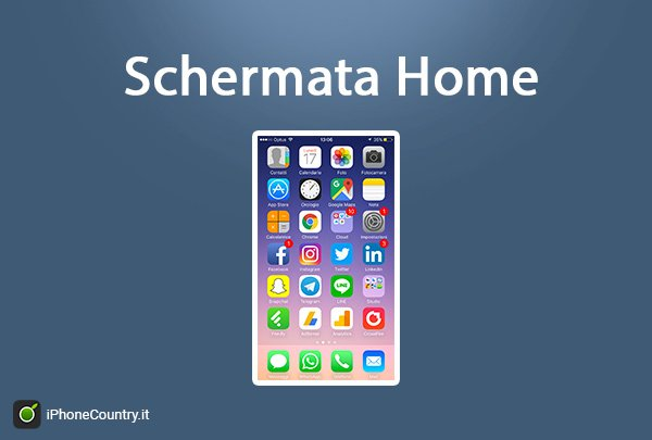 Schermata Home iPhone