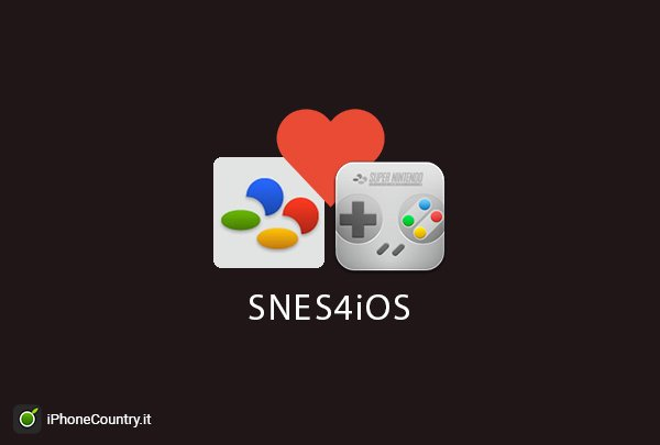 Emulatore SNES4iOS