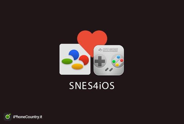 Emulatore SNES4iOS