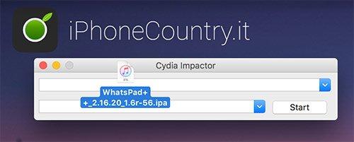 WhatsPad Cydia Impactor