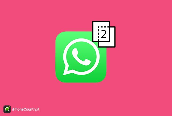 2 WhatsApp per iPhone senza Jailbreak