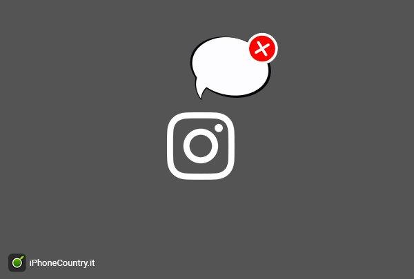 Disattivare commenti su Instagram