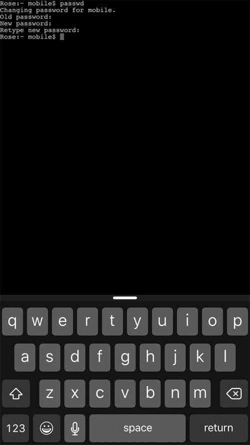 Mobile Terminal App