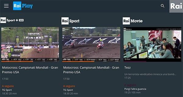 Rai Play Sport