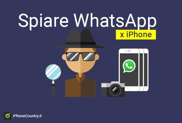 Spiare WhatsApp iPhone