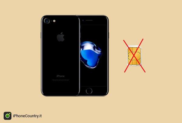 Attivare iPhone senza SIM
