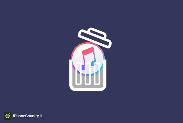 Come disinstallare iTunes su Mac