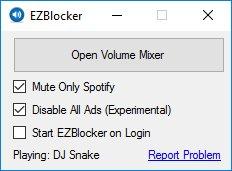 EzBlocker per Spotify