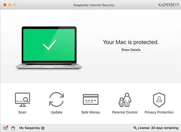 Kaspersky Internet Security per Mac