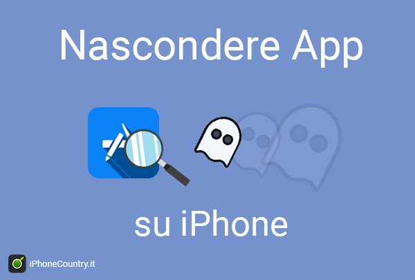 Nascondere App iPhone