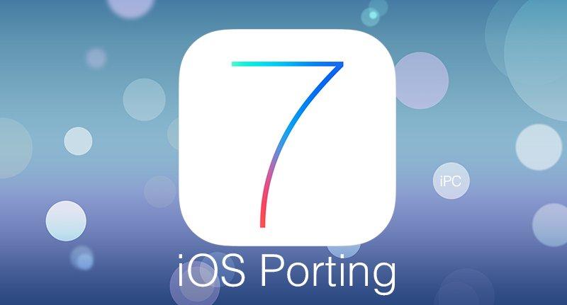 porting iOS