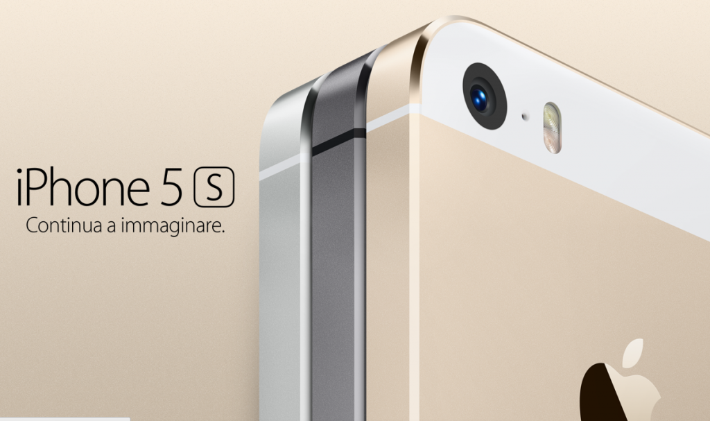 iPhone 5S - Continua ad immaginare