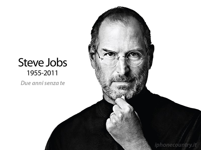 Anniversario Steve Jobs